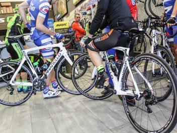 Test Pinarello en Ciclos Getxo